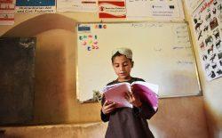 جنگ جاری افغانستان ۱۵ درصد کودکان را از مکتب محروم کرده است