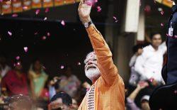 نارندرا مودی در آستانه پیروزی انتخابات پارلمانی هند؛ «… هند دوباره برنده میشود»