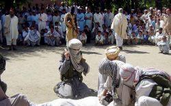 اونیفورم پولیسی که طالبان به خاطرش گردن زدند