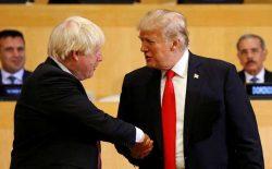 ترامپ خواستار خروج بریتانیا از اتحایهی اروپا بدون توافق شد