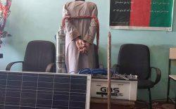 فردی هنگام سرقت وسایل مسجد در ولایت فراه بازداشت شد