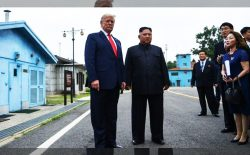 دیدار ترامپ و اون، در مرز میان دو کوریا