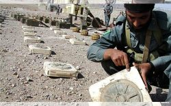 مخفیگاه ساخت ماینهای کنارجادهاي طالبان در هرات نابود شد