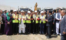 کار ۱۵ پروژهی انکشافی در غرب کابل افتتاح شد