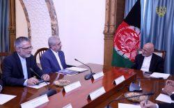 غنی: بندر چابهار باید سبب انکشاف و پیشرفت افغانستان، ایران و منطقه شود