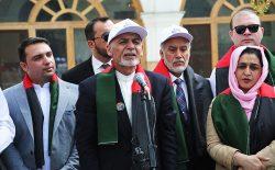 رییس جمهور غنی در روز ملی بیرق: افغانستان را ما میسازیم