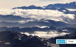 دوربینی بر فراز کوها