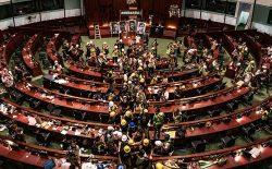 تشدید برخورد پولیس هنگکنگ با معترضان