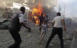 سازمان ملل: حملههای سوریه و متحدانش باعث مرگ دهها نفر شده است