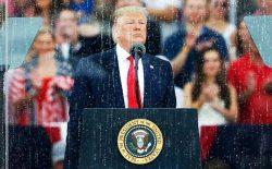 دونالد ترامپ: امریکا قدرتمندتر از همیشه است