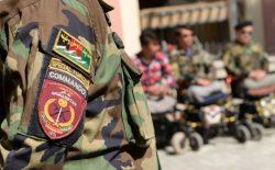اجساد ۳۴ نفر از نیروهای کوماندو به مرکز ولایت بادغیس انتقال یافت