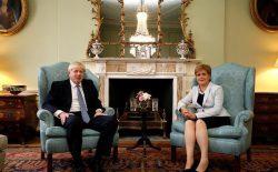 اسکاتلند: بوریس جانسون به دنبال برگزیت بدون توافق است
