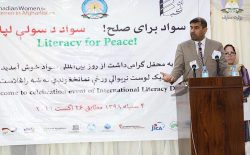 میرویس بلخی: افغانستان ۱۰ میلیون بیسواد دارد