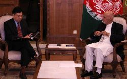 رییس جمهور غنی: با طالبان مانند یک دولت مشروع برخورد نشود