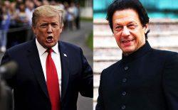 گفتوگوی تلفنی عمران خان و دونالد ترامپ در مورد صلح افغانستان