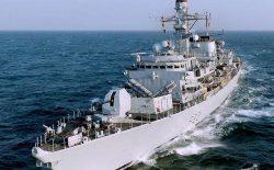 ناوچهی کنت برای حفاظت از کشتیرانی راهی خلیج فارس شد