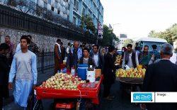 کابل شهری بدون پیاده رو