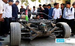 ساخت اولین موتر ورزشی گروه ENTOP در کابل