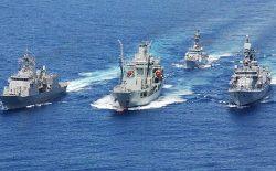 رزمایش دریایی مشترک امریکا با ۱۰ کشور جنوب-شرق آسیا آغاز شد