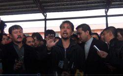 کنفرانس مطبوعاتی در مصلای شهید مزاری