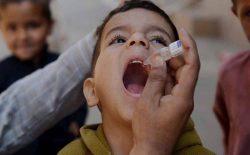 کمپاین پنج روزهی واکسین پولیو در افغانستان آغاز شد
