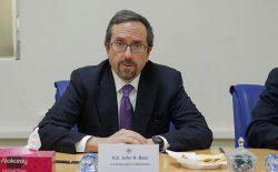 سفیر امریکا: کمیسیون انتخابات باید در مقابل هر نوع فشار ایستادگی کند