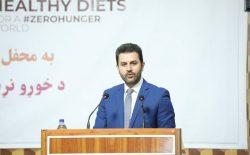 وزارت زراعت: نیمی از شهروندان افغانستان به غذای کافی دسترسی ندارند