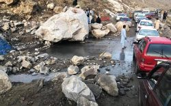 شاهراه کابل- جلال آباد به روی ترافیک مسدود شد