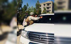 شیشههای سیاه صد عراده موتر در کابل پاک شد