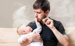 عوارض دود سگرت بر کودکان