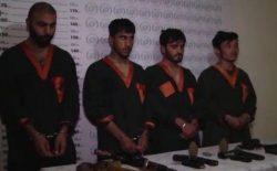 اعضای خطرناکترین شبکهی جرمی در شهر کابل بازداشت شدند