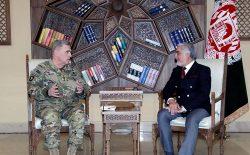 مارک میلی: امریکا به کمکها و حضور خود در افغانستان ادامه میدهد