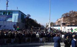راهپیمایی تکت انتخاباتی ثبات و همگرایی پایان یافت