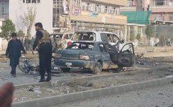وزارت داخله: انفجار موتربمب در شهرکابل ۷ کشته به جا گذاشت