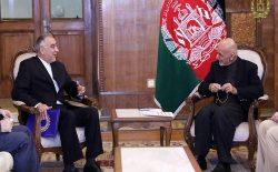 ایران از پروسهی صلح به رهبری حکومت افغانستان پشتیبانی کرد