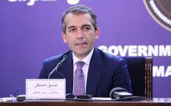 صدیقی: ریاست اجرایی در چوکات حکومت افغانستان وجود ندارد