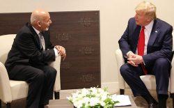 غنی و ترامپ در مورد اوضاع افغانستان گفتوگو کردند