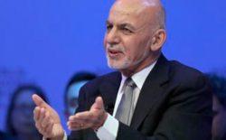 غنی: افراد طالبان از جنگ خستهاند، اما رهبران این گروه از زندگی لذت میبرند