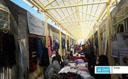 بازارچهی بدون مشتری زنان در سرمای زمستان بامیان