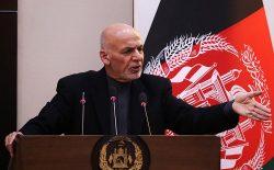 غنی: گروه طالبان از خشونت دست بردارد