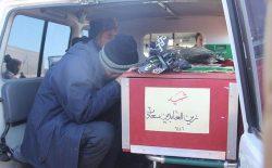 جنازهی زینالعابدین سعادت به هرات رسید