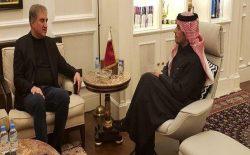 وزیران خارجهی پاکستان قطر در مورد روند صلح افغانستان گفتوگو کردند