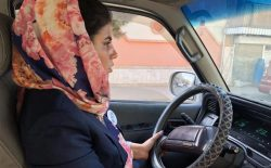 رانندگی زنان در کابل دیگر تابو نیست