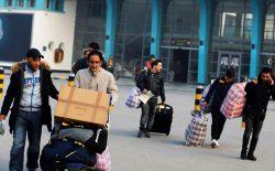 گروه جدیدی از پناهجویان اخراج شدهی افغان به کابل رسیدند