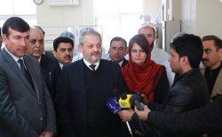 بخش ویژهی کنترل ویروس کرونا در شفاخانهی افغان-جاپان ایجاد شد
