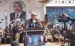 دوستم به هوادارانش: در ولایتهای شمالی جشن پیروزی برپا کنید