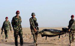 حملهی طالبان در بلخ؛ دو نفر از نیروهای ارتش جان باختند