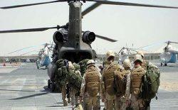 آغاز روند خروج تدریجی نیروهای امریکایی از افغانستان