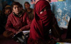 وضعیت دختران افغان از لنز دوربین لینزی ادریو