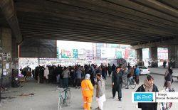 قرنطین کابل و حضور گستردهی مردم در خبابانها
